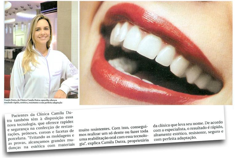 Dra Camila Dutra é destaque em matéria para revista Metrópole